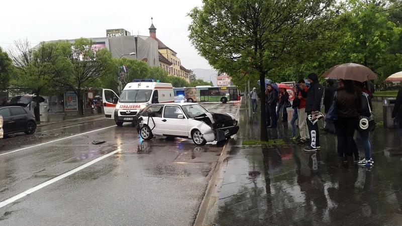 """Teška saobraćajna nesreća kod """"Boske"""""""