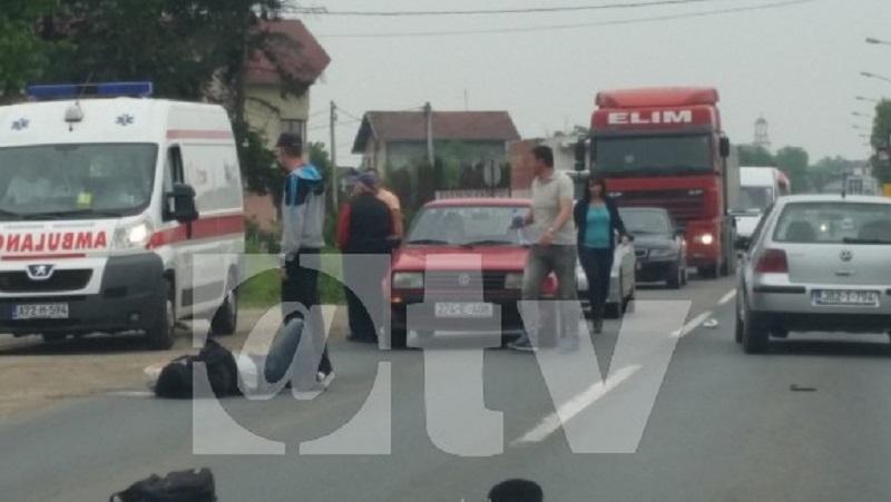 Laktaši: Automobil udario pješaka