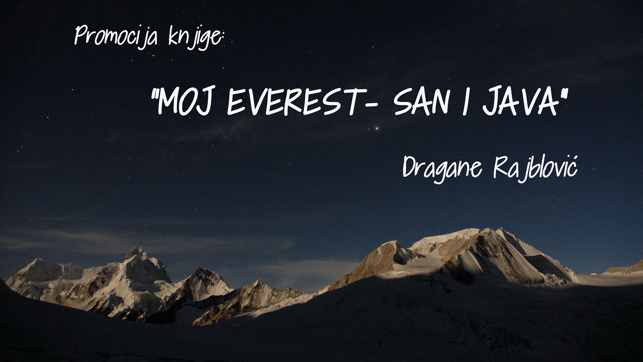 "Promocija knjige ""Moj Everest – san i java"""