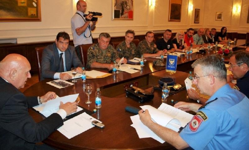 Civilna zaštita zakazala vježbu na Kastelu