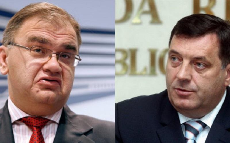 Ivanić i Dodik: Došli smo do crvene linije preko koje Republika Srpska ne može ići