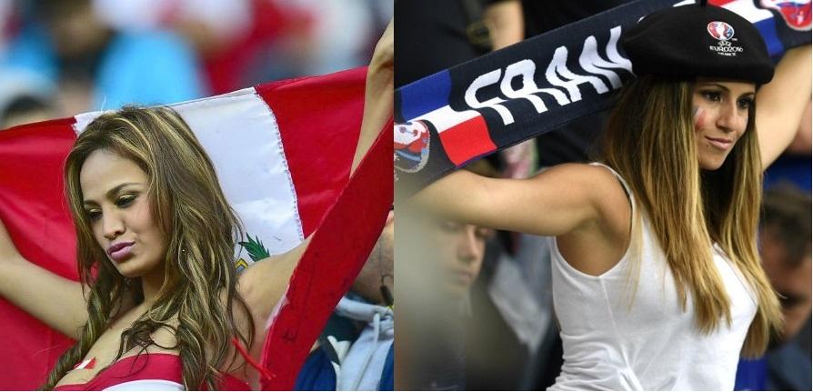 Ljepša strana fudbala:Navijačice EURO 2016 i Copa America