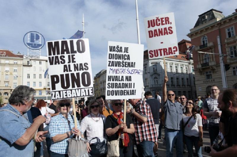 Najveći protest u istoriji Hrvatske: 40.000 ljudi traži reformu obrazovanja