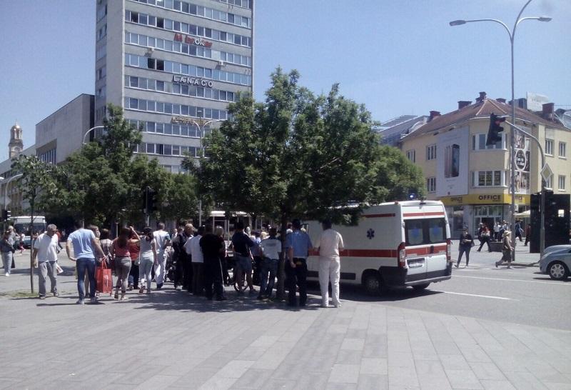 Biciklista povrijeđen u centru Banjaluke