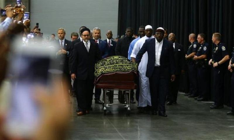 Na sahrani Muhameda Alija 14.000 poštovalaca
