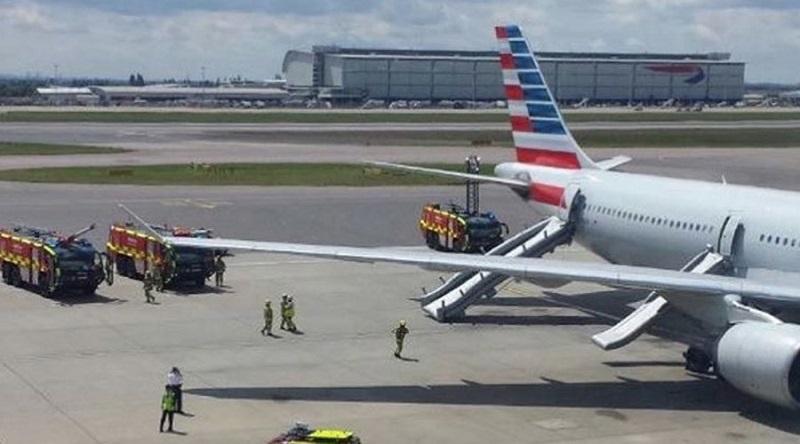 Drama u Londonu, evakuisan avion na Hitrou