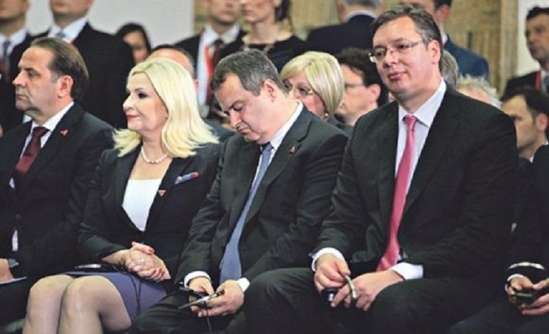 Dačić zaspao tokom govora kineskog predsjednika