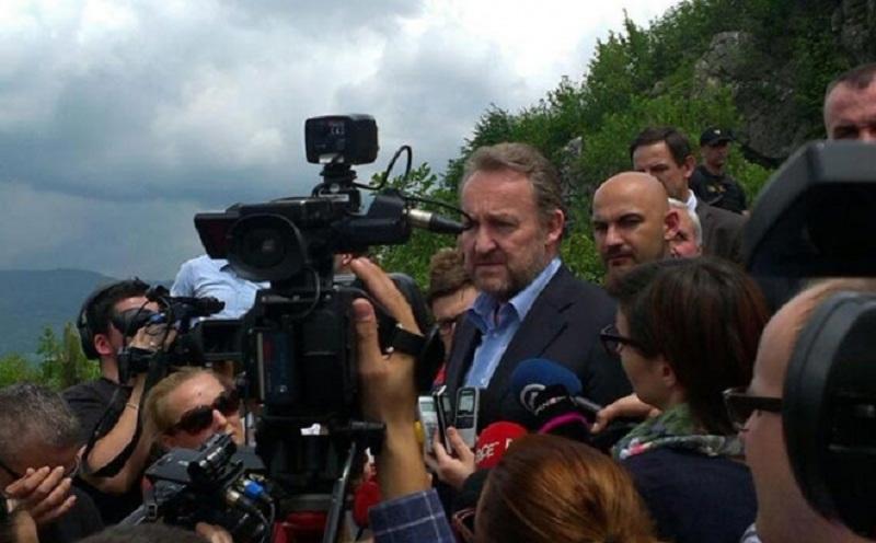 Izetbegović posjetio Kazane, jedno od mjesta stradanja sarajevskih Srba