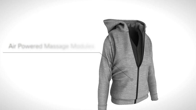 Inovacija: Dukserica koja će vas diskretno masirati dok radite