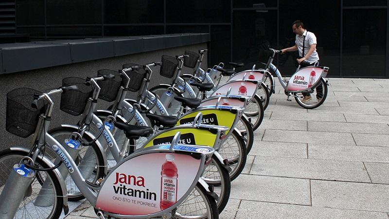 """Sarajevo: """"Nextbike"""" bicikli za iznajmljivanje odlično funkcionišu"""