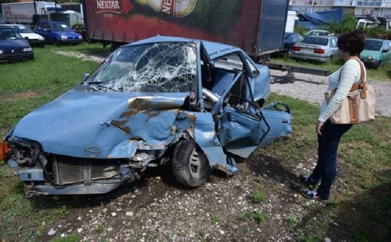 Nakon nesreće u Banjaluci: Pas nije htio da napusti mrtvog gazdu