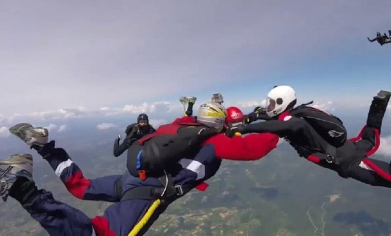 Pogledajte skok padobranom iznad Banjaluke u prvom licu (VIDEO)
