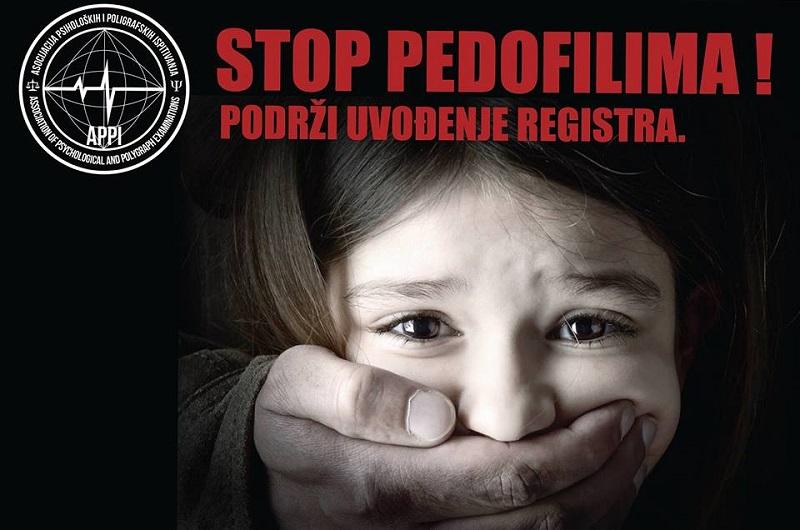 """Trg Krajine: Akcija """"Stop pedofiliji-podržimo registar"""""""