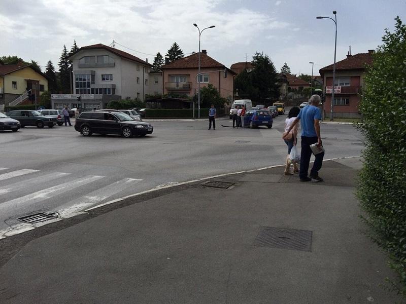 Banja Luka: Udes i velika gužva na tranzitu