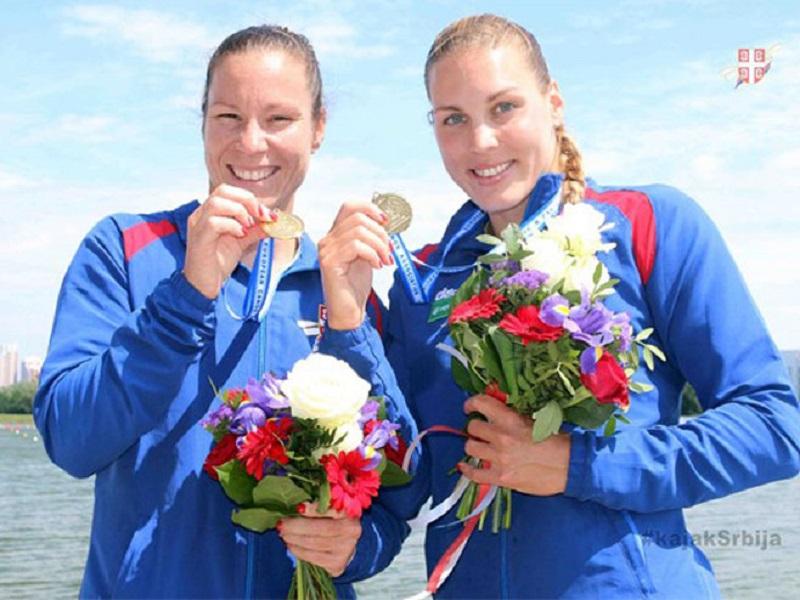 Srpski dvosjed u kajaku novi prvak Evrope