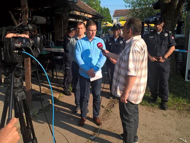 Petostruko ubistvo u Srbiji