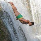 Skokovi s vodopada u Jajcu 6. avgusta