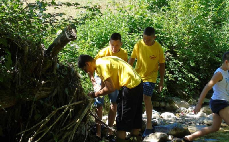 Kotor Varoš: Očišćeno korito rijeke Duboke