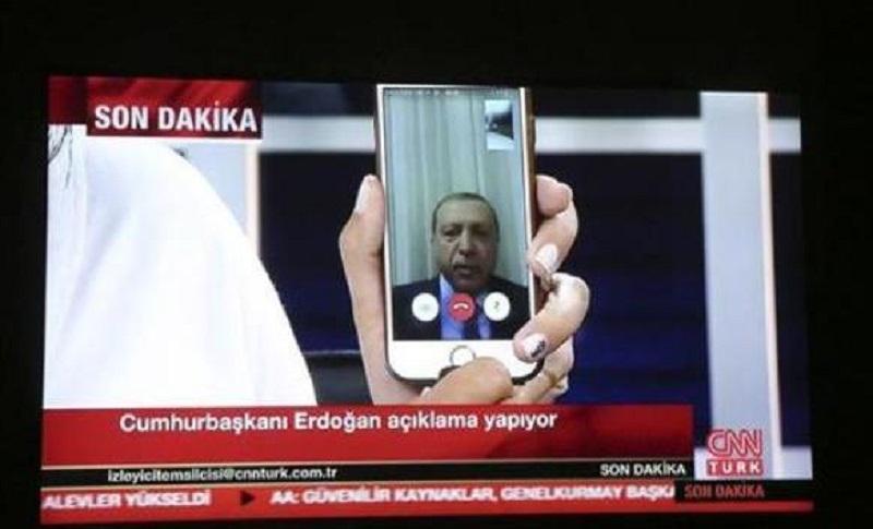 Kako je ajfon spasio Erdogana