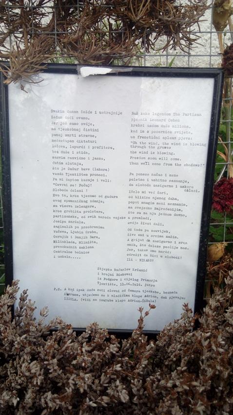 """Dolina heroja – memorijalni spomenik u NP """"Sutjeska"""""""