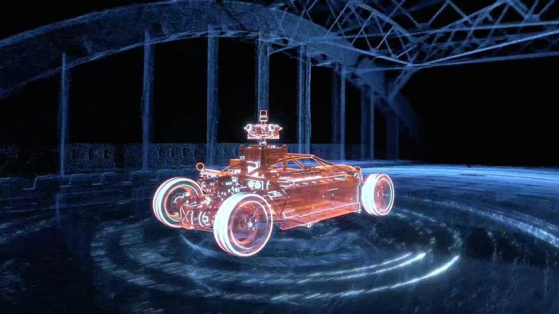 Automobil koji se u post produkciji pretvara u bilo koje vozilo