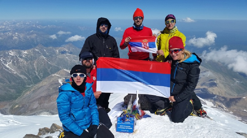 Planinari iz Srpske se popeli na Elbrus