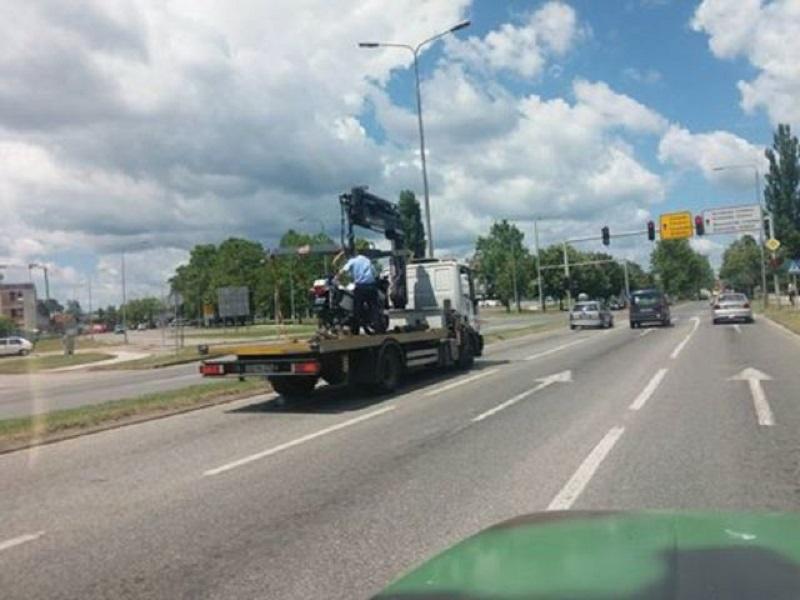 """Banjaluka: """"Pauk"""" nosi i motocikle"""