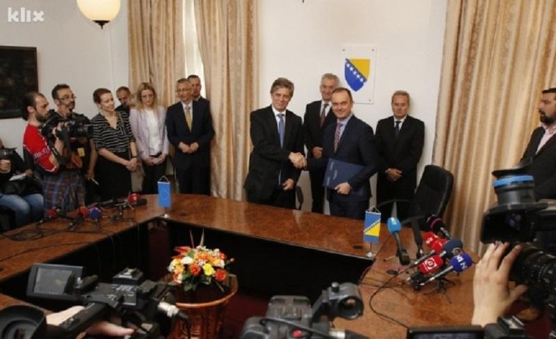 Parafiran Sporazum o stabilizaciji i pridruživanju