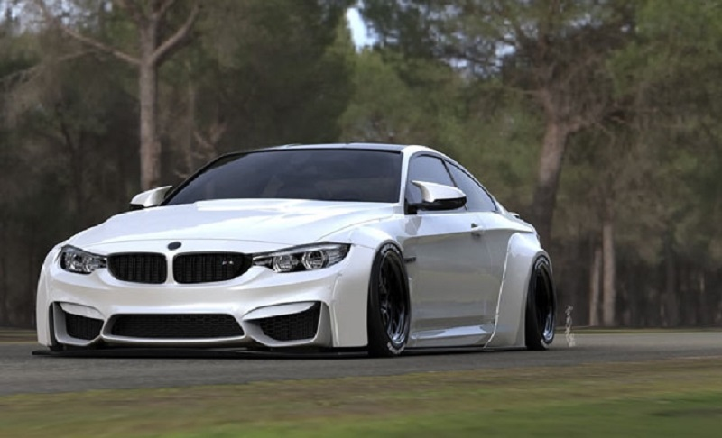 Novost u ponudi: BMW M4 na japanski