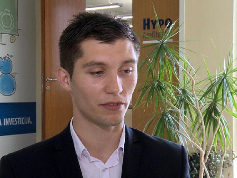Bojan Kresojević student generacije Ekonomskog fakulteta u Banjaluci