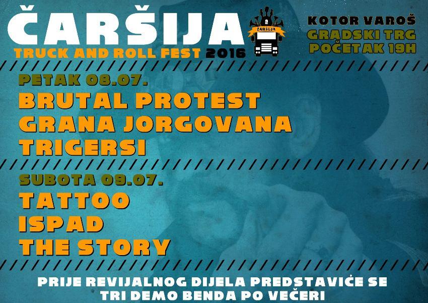 """Kotor Varoš – """"Truck and Roll Fest"""" 08. i 09. jula"""