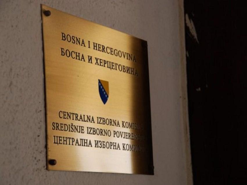 CIK BiH: Danas žrijebanje ovjerenih političkih subjekata