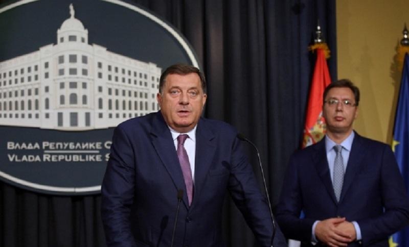 Dodik i Vučić: Mir i stabilnost ključ za razvoj ekonomije