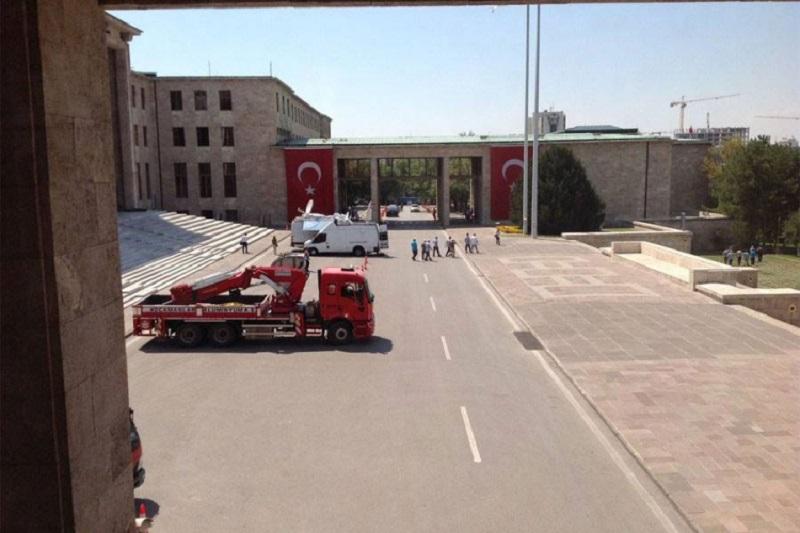Evakuacija turskog parlamenta zbog mogućeg novog napada