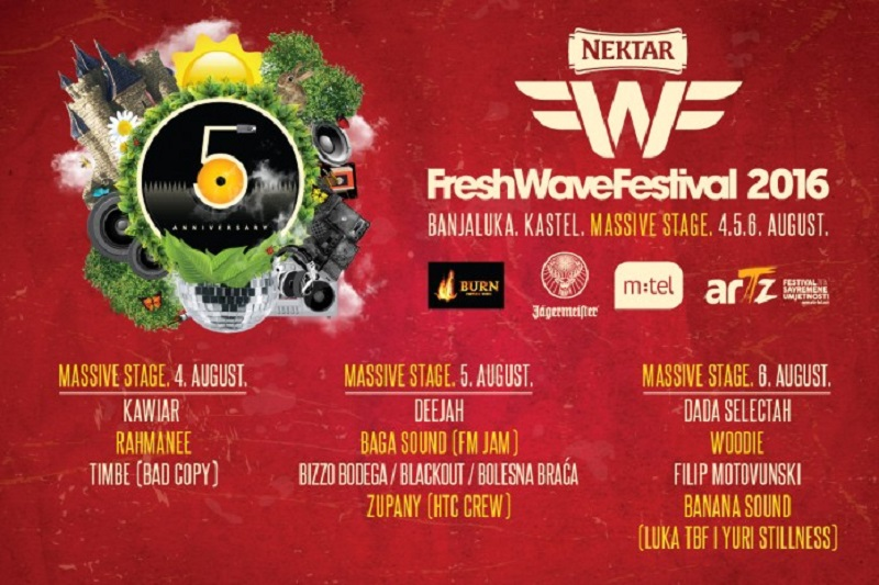 Nektar FreshWave Festival predstavlja MASSIVE Stage