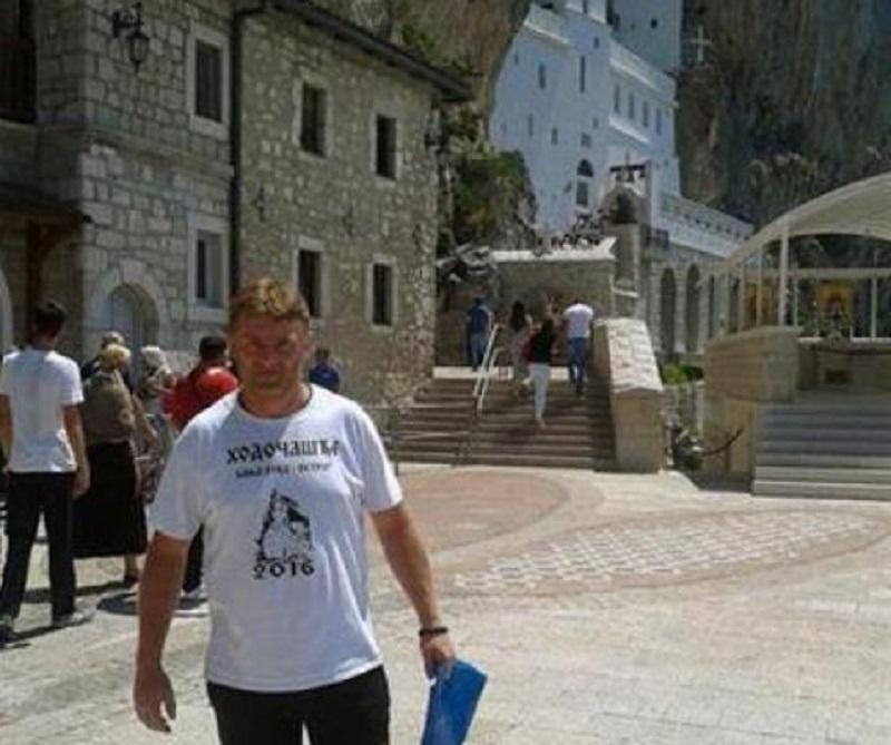 Banjalučanin u humanoj misiji: Pješačio 20 dana do manastira Ostrog