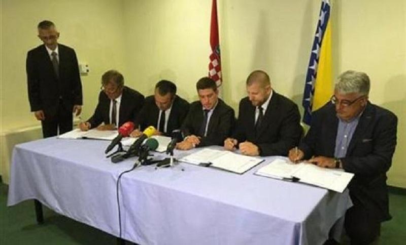 Potpisan ugovor o izgradnji mosta na Savi kod Svilaja