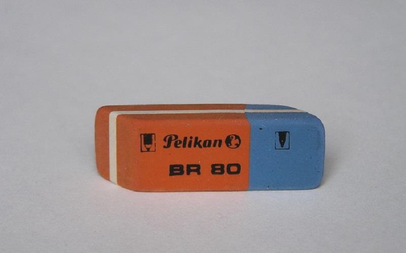 Zablude iz djetinjstva: Čemu služi plavi dio gumice za brisanje?