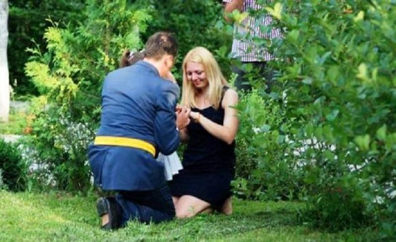 Banja Luka: Još jedna romantična prosidba