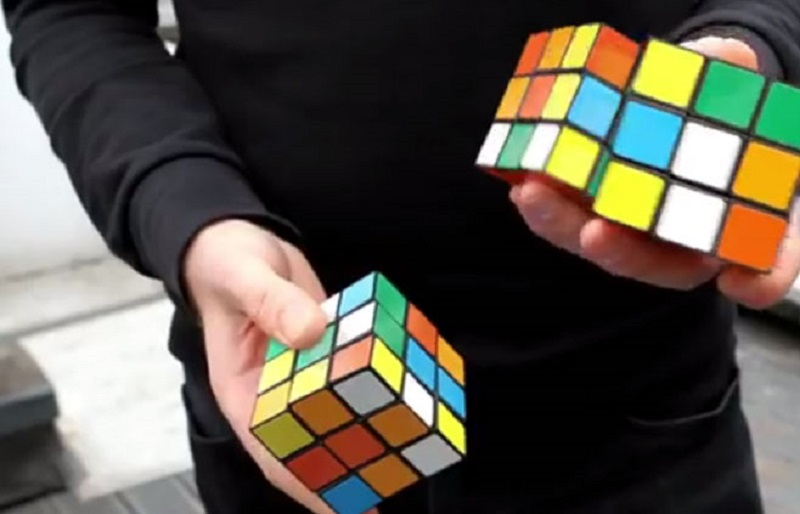 Evropski rekord za slaganje Rubikove kocke