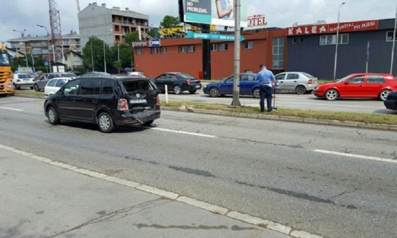 Banjaluka: Sudar na banjalučkom tranzitu