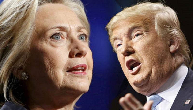 Ankete: Tramp vodi ispred Hilari
