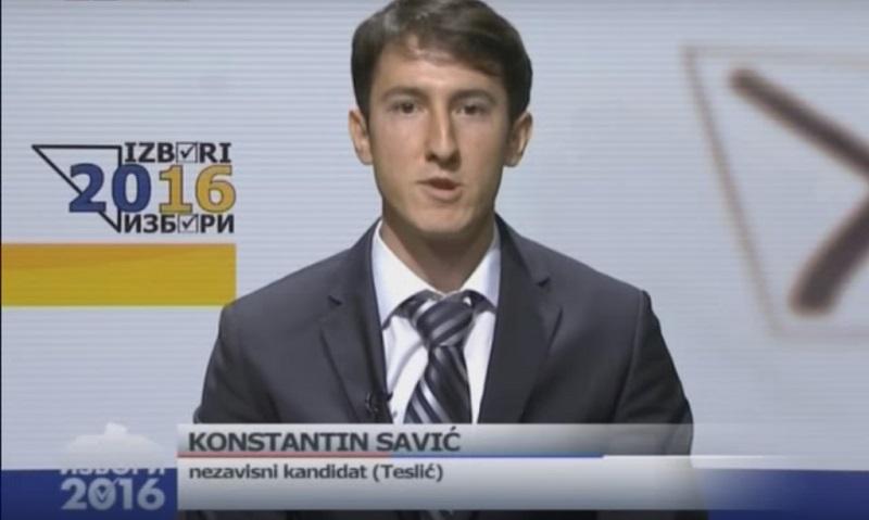 Konstantin Savić – Želio je biti načelnik, a sada bi rado napustio BiH