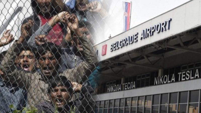 Iz pritvora na aerodromu pobjeglo pet migranata