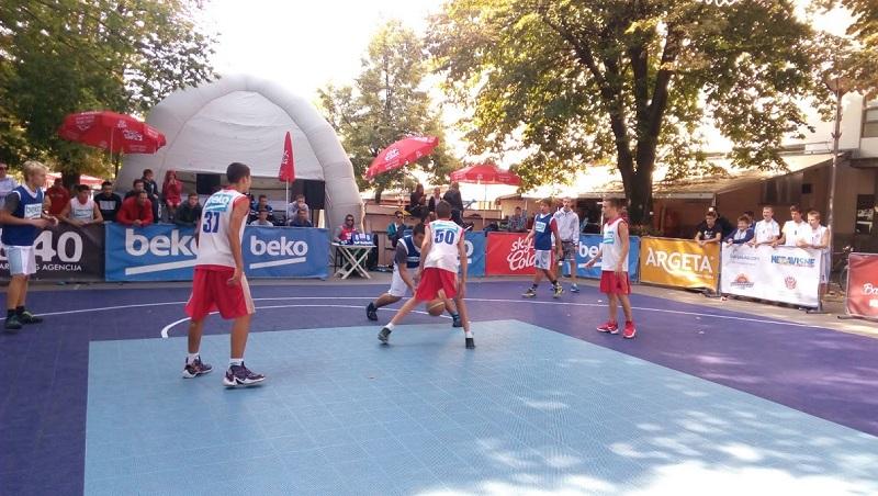 """Završena grupna faza na """"Beko S.ketch Street Basketball – Banja Luka 2016"""""""