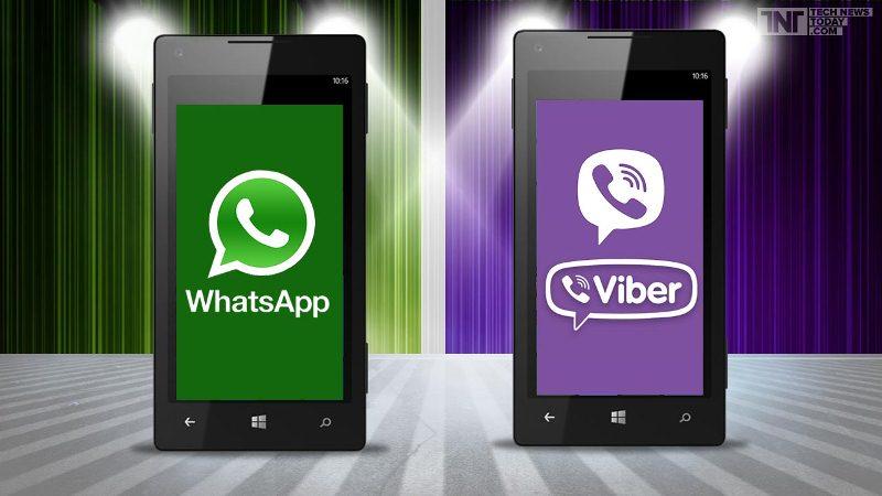 Kako poslati poruke s WhatsAppa i Vibera bez interneta?