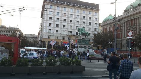Desničari u Srbijin organizovali skup podrške referendumu u Republici Srpskoj