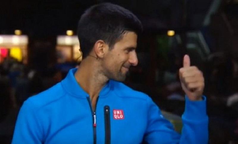 Kako su srpski navijači nasmijali Novaka u Njujorku? (VIDEO)