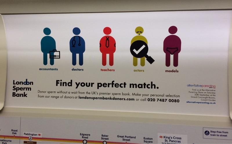 """Londonska banka sperme lansirala aplikaciju """"Biraj tatu!"""""""