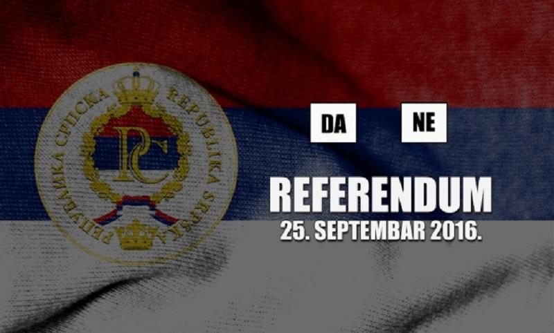 Komisija za referendum: Glasanje od 7 do 19 časova